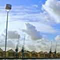 Fotografia Royal Victoria Docks wLondynie