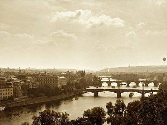 Fotografia mostów wPradze